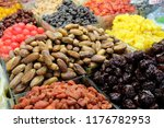 dried fruits colorful food dry... | Shutterstock . vector #1176782953