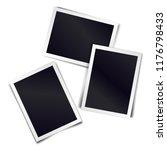 three photorealistic blank... | Shutterstock . vector #1176798433