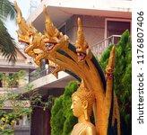 luang prabang laos march 31 ... | Shutterstock . vector #1176807406