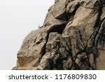 rocks. costa del sol  spain. | Shutterstock . vector #1176809830