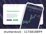 online landing page of trading...