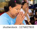 bago myanmar august 19 2018... | Shutterstock . vector #1176827833