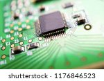 computer circuit cpu chip...   Shutterstock . vector #1176846523