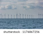 horizon wind wind mills | Shutterstock . vector #1176867256