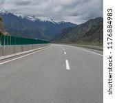 wild field highway    Shutterstock . vector #1176884983