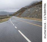 wild field highway    Shutterstock . vector #1176884986