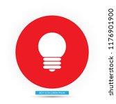 bulb  vector icon    Shutterstock .eps vector #1176901900