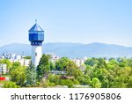 water tower wasserturm in kehl  ... | Shutterstock . vector #1176905806
