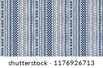 tribal vector ornament.... | Shutterstock .eps vector #1176926713