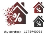 mortgage discount icon in... | Shutterstock .eps vector #1176940036