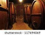 wine cellar in tuscany | Shutterstock . vector #117694069