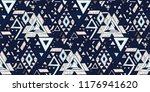 geometric folklore hipster... | Shutterstock .eps vector #1176941620