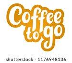 best coffee hand sketched...   Shutterstock .eps vector #1176948136