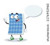 cartoon joyful photovoltaic... | Shutterstock .eps vector #1176952960