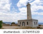 gytheio lighthouse  peloponnese ... | Shutterstock . vector #1176955120