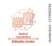 medical examination concept... | Shutterstock .eps vector #1176963256