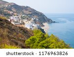 oued laou beach in the north of ... | Shutterstock . vector #1176963826