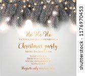 christmas party invitation...   Shutterstock .eps vector #1176970453