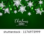 christmas party invitation... | Shutterstock .eps vector #1176973999