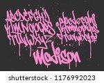 marker graffiti font ...