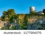 clifton observatory bristol... | Shutterstock . vector #1177006570