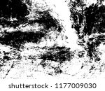 vector ink paint for texture | Shutterstock .eps vector #1177009030