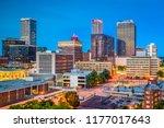 tulsa  oklahoma  usa downtown... | Shutterstock . vector #1177017643