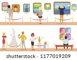 cartoon characters people... | Shutterstock .eps vector #1177019209