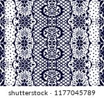 traditional vector ornament in... | Shutterstock .eps vector #1177045789