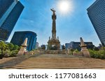 angel of independence monument  ... | Shutterstock . vector #1177081663