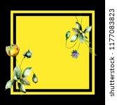 seamless pattern with original... | Shutterstock . vector #1177083823