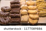 a variey of home made cookies... | Shutterstock . vector #1177089886