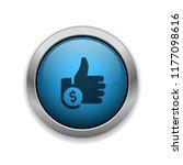 cost per like   app icon | Shutterstock .eps vector #1177098616