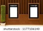 empty isolated cinema poster... | Shutterstock . vector #1177106140