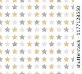 christmas stars seamless... | Shutterstock .eps vector #1177128550