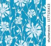 plant seamless pattern of... | Shutterstock .eps vector #1177131613