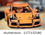 lego collections exhibition at... | Shutterstock . vector #1177132180