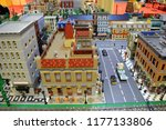 lego collections exhibition at... | Shutterstock . vector #1177133806