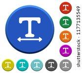 adjust font width round color...   Shutterstock .eps vector #1177135549