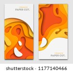 banners templates with yellow... | Shutterstock .eps vector #1177140466
