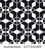 vector seamless pattern.... | Shutterstock .eps vector #1177142209