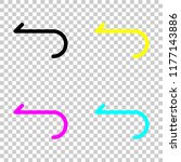 simple arrow  backward....