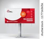 billboard design  banner for... | Shutterstock .eps vector #1177163656