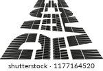 """stylized word """"race"""" with tire... 