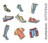vector illustration of sport... | Shutterstock .eps vector #1177172113