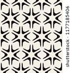 vector seamless pattern. modern ... | Shutterstock .eps vector #1177185406
