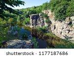 view of the buki canyon. buki ...   Shutterstock . vector #1177187686