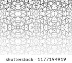 abstract black pattern on white ... | Shutterstock . vector #1177194919