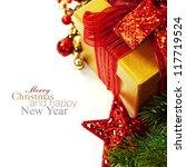 Christmas Composition With Gif...