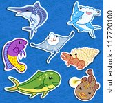 Cute Sea Animal Stickers